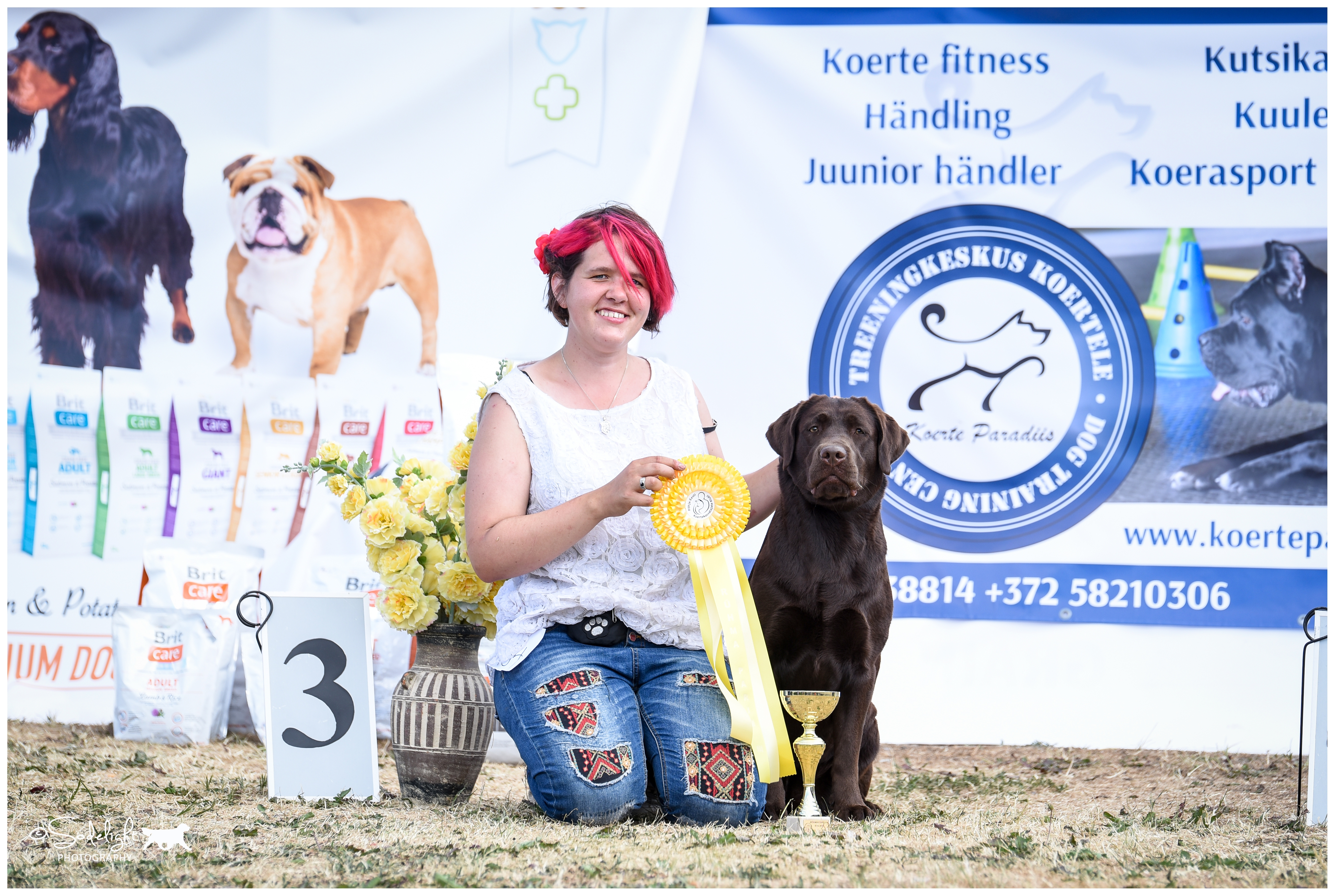 Royal Brown I Love Your Smile BOS Junior & BB2 on Saturday 16.6.2018 National show in Luige, BOB Junior, BB1, BOB & Group 3rd on Sunday 17.6.2018 National Dog Show in Luige,  finished her EST JCH title just with 5 shows ever. Thank you, Maarja Kalma, for showing her the last weekend and achieving all this! Picture by Kadi Haljand.