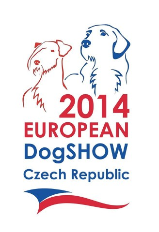 2014 european dog show logo