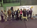 Robbie winning the BEST IN SHOW at the all-breed national dog show in Tartu 11.01.2015. Photo by Anthony Kelly, Ireland, thank you!